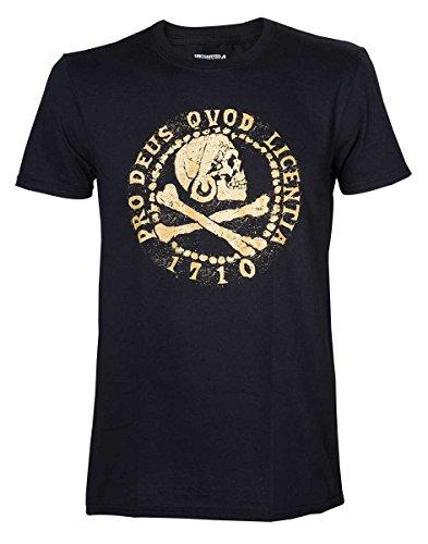 Uncharted 4 T-Shirt -2XL- Pro Deus Qvod Licentica,