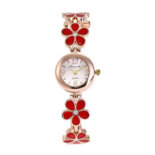 LYAO Nuevo Reloj De Pulsera De Pétalos De Diamantes Creativo Reloj De