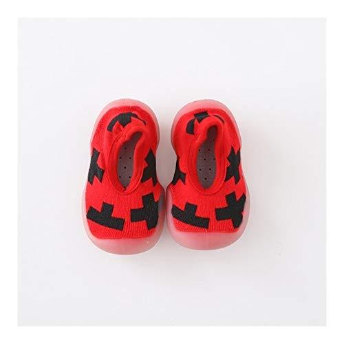 Chaussette Bebe Chaussures bébé garçon Fille Mode Tout-Petits Chaussures New Born First Walkers Lovely Baby Bottillons Enfants Chaussures de Sport Anti-Slip (Color : 2, Taille : 18-24 Months)