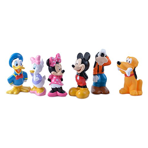 [Toys, baby bath] fellow bus toy set Mickey Mouse and Friends Bath Toys for Baby and [Disney] Disney baby Disney Baby Mickey