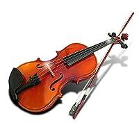 Stardust シトラス バイオリン 演奏 初心者 音楽 趣味 おすすめ 楽器 セット ケース ( ナチュラル ブラウン ) SD-SITORAS-NB