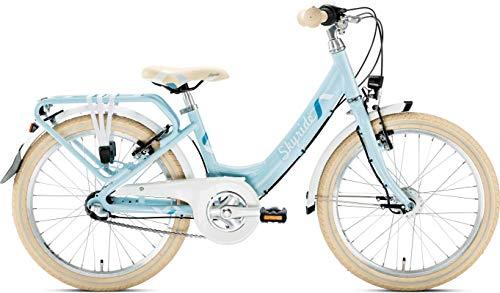 Puky 4451 - Skyride 20-3 Alu light- Fahrrad hellblau