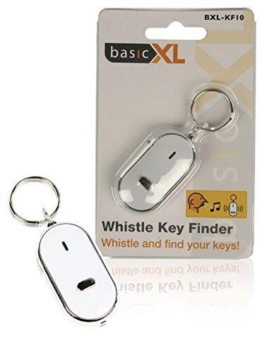 basicXL Schlüssel-Finder Keyfinder Sucher Finder Piepser Schlüsselanhänger (3 Stück)