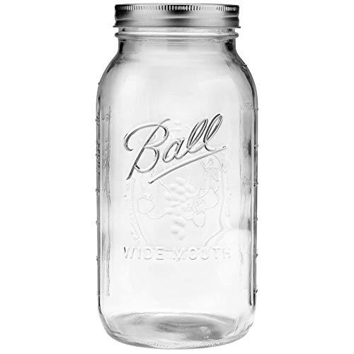 1 Ball 64oz Wide Mouth Half Gallon Mason Jar