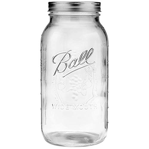1 Ball 64oz Wide Mouth Half Gallon Mason Jar