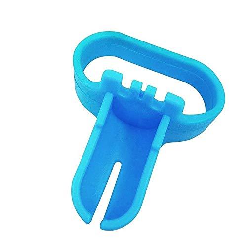 Aomili Neu Einfach Verwenden Knoten Binden Werkzeug für Latex Luftballons Partyzubehör Ballon Krawatte (Blau)