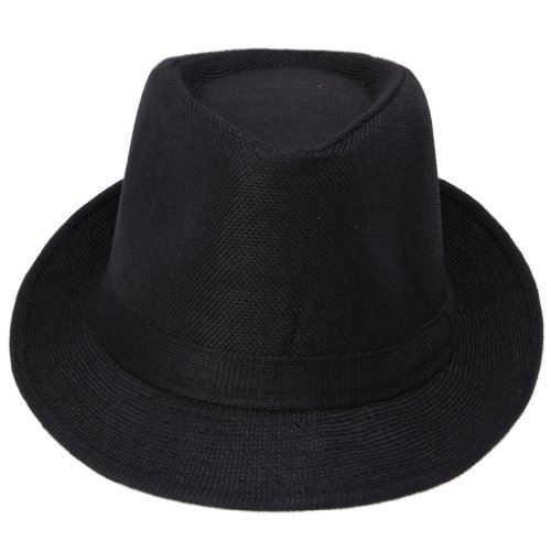 Jtc Fedoras Gangster Summer Hat Jazz Caps Black - http://coolthings.us