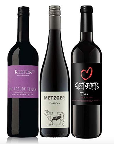 3er Probierpaket Rotwein lieblich zum Kennenlernen | 3 x 0,75l