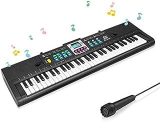 BestFire 61 Key Piano Keyboard for Kids Electronic Keyboard