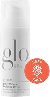 Glo Skin Beauty SPF 30 Daily Mineral Defense Face Sunscreen for Dry Skin | Pure Mineral Broad Spectrum Sun Protection