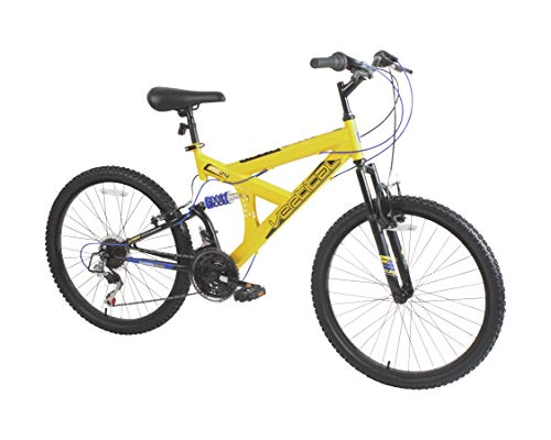 "Dynacraft Vertical Alpine Eagle 24"" Bike, Yellow"