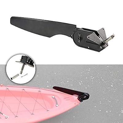 Sruma - M1760 Nylon Glass Fiber Kayak Rudder Kayak Accessories Fishing Kayak Boat Rudder Replacement Parts Foot Control Steering System by Sruma