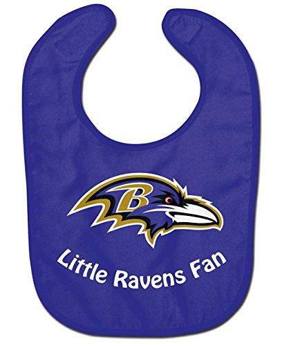 WinCraft NFL Baltimore Ravens WCRA2047014 All Pro Baby Bib
