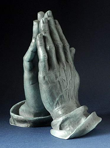Praying Hands of an Apostle by Durer Statue for Christian Devotion 6.25H