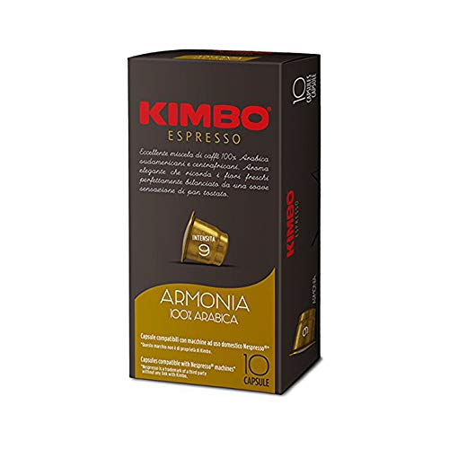 240 CAPSULE KIMBO COMPATIBILI NESPRESSO ARMONIA