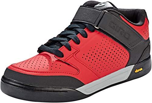 Giro Women's Riddance Mid Mountain Biking Shoes, Multicolour (Dark Red/Black 15), 8 (42 EU)