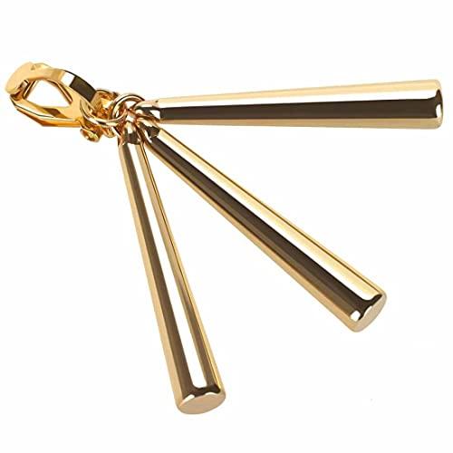 Pendientes de gota dorada de una pieza para cosplay Lorenor Zorro