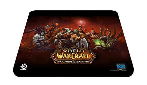 SteelSeries QcK Warlords of Draenor Edition Gaming Mauspad