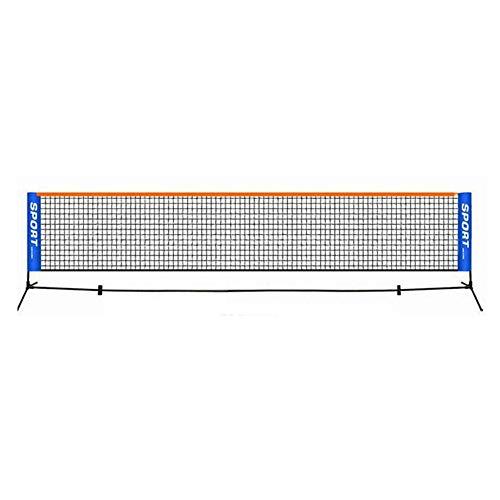 Entrenamiento portátil Red de Tenis Ligera de Malla Espesado Neto de formación para niños y Adultos Bádminton Tenis Voleibol (no incluir Estante de Tenis) (3.1m * 0.76m)