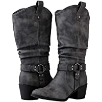 Globalwin Women's Cowboy Boots (Gray)