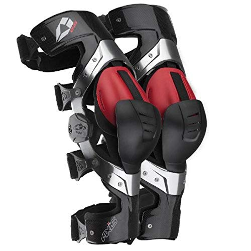 EVS Sports Axis Pro Knee Brace (Carbon, Small) - Pair