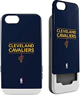 Skinit Wallet Phone Case for iPhone 6/6s - Officially Licensed NBA Cleveland Cavaliers Standard - Blue Design