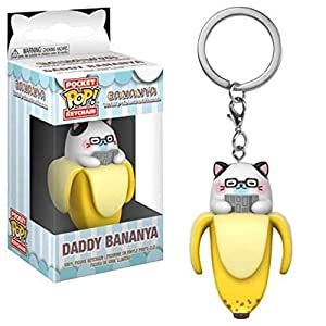 Funko Pop Keychain: Bananya – Daddy Bananya Collectible Figure