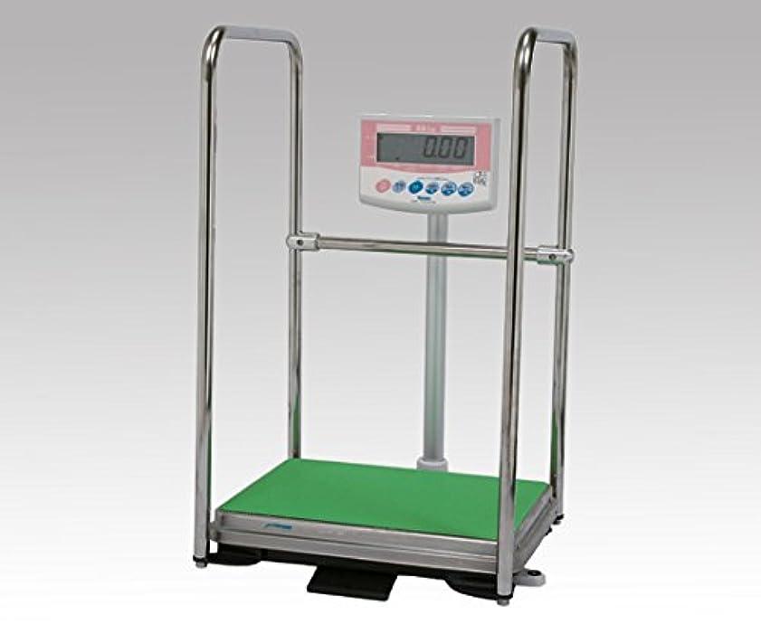 もつれ露出度の高い縁デジタル体重計?手すり付(検定品) DP-7101PW-T