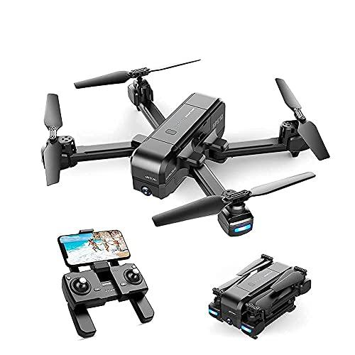 Drone con fotocamera Drone con fotocamera 2.7K HD Camera Drone FPV Live Video e GPS Auto Return Quadricottero RC compatto, Follow Me, Modalità senza testa, Volo lungo 16 minuti, Adatto per adulti e