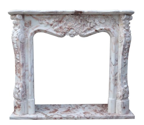 Luxury-Park Bunter Marmorkamin Kamine Barocker Stil Umrandung Preise Kaminumrahmung