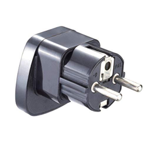 Universal 10A 250V AU US UK to EU Power Plug with Security Door Germany France Korea Indonesia Converter Adapter Plug
