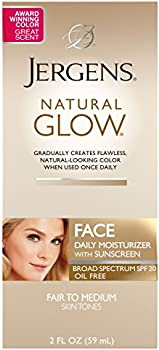 Jergens Natural Glow Oil-free SPF 20 Face Moisturizer
