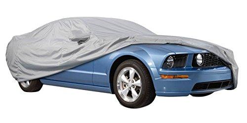 Funda exterior premium para Audi A6 Allroad DE 2006, impermeable, doble capa sintética y de finas trazas de algodón por el interior, transpirable para evitar la condensación en el parabrisas.