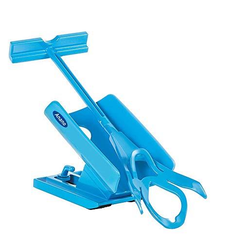 Deslizador de calcetines, fácil de poner y quitar, kit de ayuda para deslizar sin doblar, apretar y esparcir para un viaje cómodo