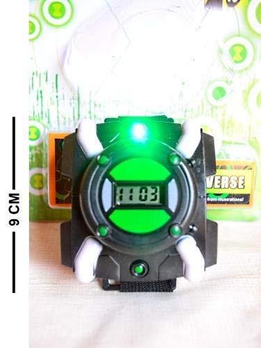 Relógio Ben 10 Omnitrix Omniverse Ultimatrix Com Luz
