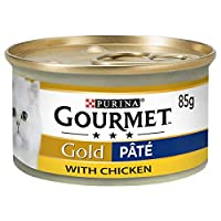 Gourmet Gold Can Chicken Pate 85g ( x 12 packs ) Makes a loverly gift idea Luxurious & smooth chicken pate for The ulultimate dining experience Good quality item Linked MPN 12144836