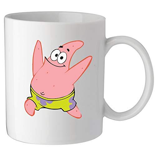 Nothingtowear Lustiges Laufendes Giant Patrick Spongebob Meme Keramik Tasse Kaffeetasse Teetasse Becher Mug