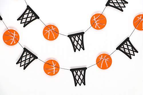 Basketball and Basket Garland - Birthday Decorations,Party Decorations,Party décor,Creative Decoration