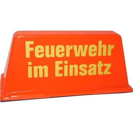 Dachaufsetzer Feuerwehr Im Einsatz Rot Gelb Sport Freizeit