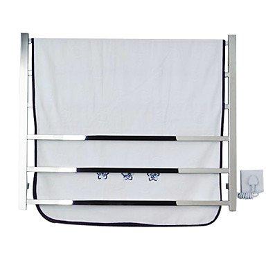 Desy Scaldasalviette da parete in acciaio INOX 600x 800x 110mm (59,9x 79,8x 11cm) in acciaio INOX contemporaneo 110-120v