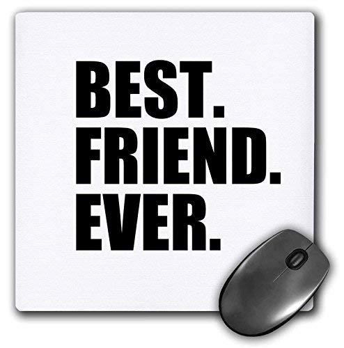 Mauspad Bester Freund aller Zeiten Geschenke für Bffs und gute Freunde Humor Spaß Lustige humorvolle Freundschaftsgeschenke Gummi Gaming Mauspad Rutschfeste Handgelenk geschützte Mauspad für Büro