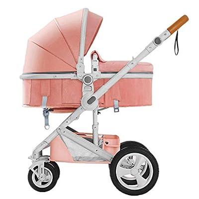 XHCP Cochecito 2 en 1 - Cochecito Combinado para bebé Desde el Nacimiento hasta los 25 kg - Baby Buggy Jogger Travel Systems - Cochecito para niños - Bidireccional /