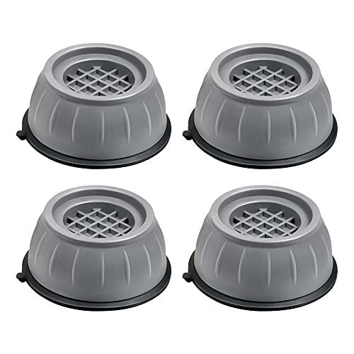 Piedini per Lavatrice Antiscivolo, Ammortizzatore Vibrazione per Lavatrice Piedini per rondelle anti vibrazione,Piedini per Lavatrice Universali 4 Pezzi per Lavatrice e Asciugatrice