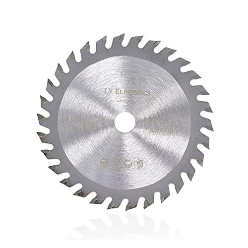 85mm 1pc 24 dientes TCT de corte circular vio la lámina for la madera Rueda discos de 110 mm de 120 mm de carburo de corte del disco de la madera hoja de sierra Cortar la ruleta