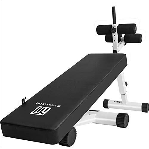 Verstelbare schuine bank gebogen zitbank board fitnessruimte banken Speed  Ball pull touwen omgekeerde kroongreep voor af-oefeningen fitnessruimte zitbank