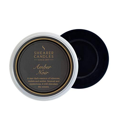 Shearer Candles à Tarte, parfumée Melt, Cire de Paraffine, Huile parfumée, Plastique, Transparent, Noir, Doré, H : 27 mm x l : 74 mm