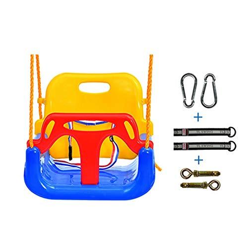 Zunruishop schommel voor kinderen met 3 zitplaatsen en ophangvoorziening voor binnen en buiten