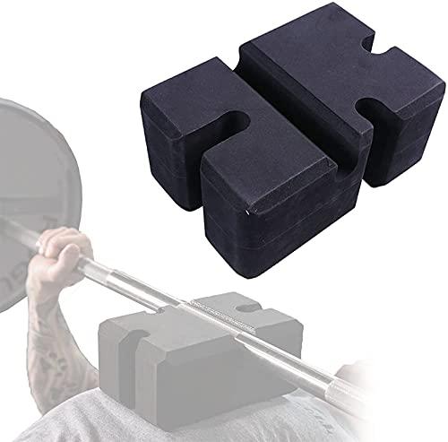 ZGHTD Chest Bench Press Rest Blocks, Anti-Slip Barbell Deep Squat Fitness Trainer, Adjustable EVA Foam Block, Safe Training Aids