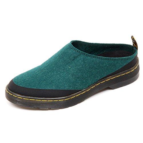 D1734 Sabot Donna DR. MARTENS Elysia Scarpe Verde Shoe Woman [37]