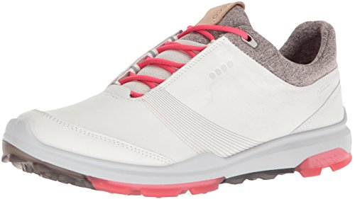 ECCO Damen Women Golf Biom Hybrid 3 Golfschuhe, Elfenbein (White/Teaberry 58365), 41 EU